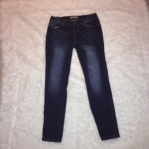 Dark Blue Skinny Jeans by Encore